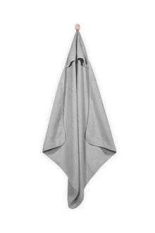 Basic care badcape 75x75 cm grijs