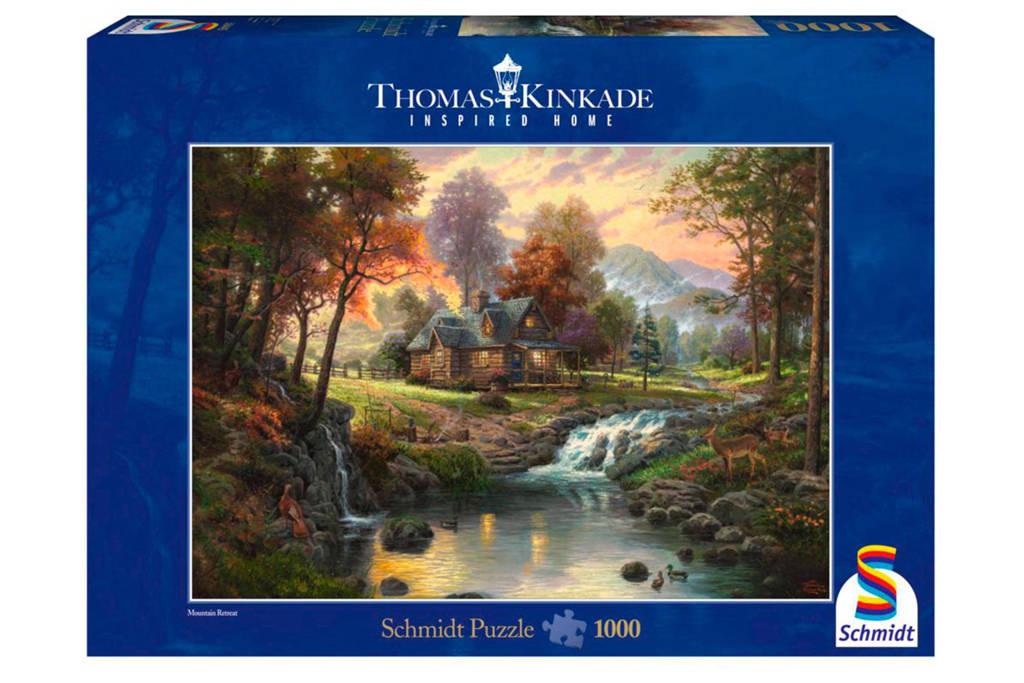Schmidt optrekje in de bergen  legpuzzel 1000 stukjes