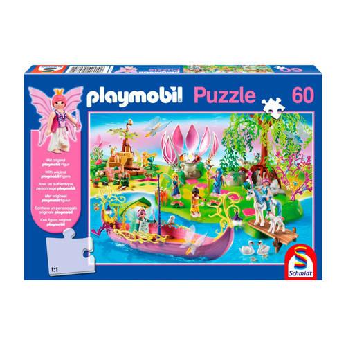 Schmidt puzzel Playmobil feeënwereld 60 stukjes