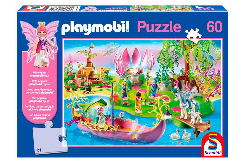 Schmidt Playmobil feeënwereld  legpuzzel 60 stukjes
