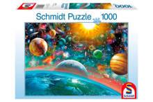 het heelal  legpuzzel 1000 stukjes