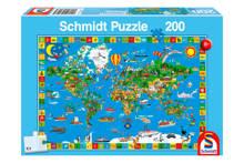 jouw prachtige wereld  legpuzzel 200 stukjes