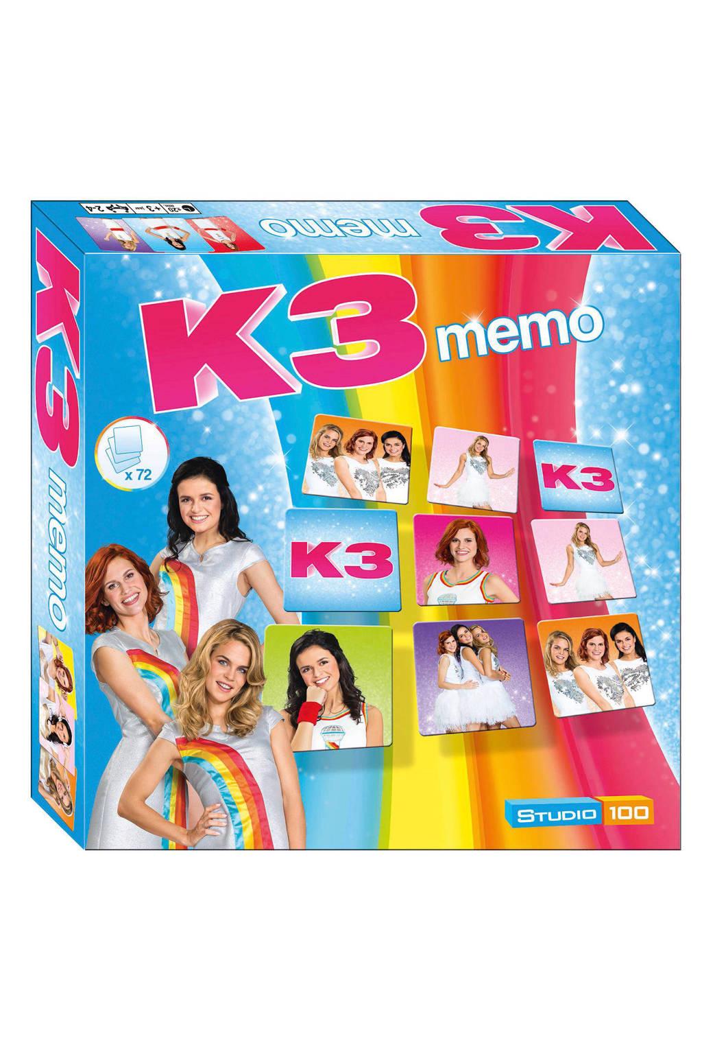 K3 memo kinderspel