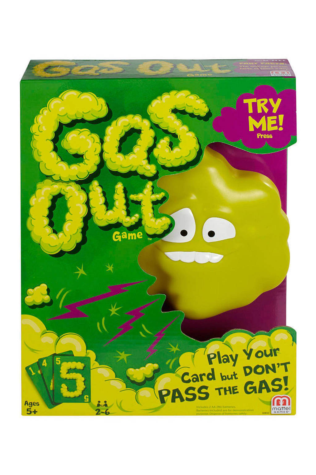 Mattel Gas Out kinderspel