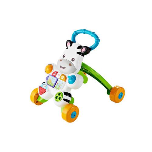 Fisher-Price loopwagen Loop met mij zebra