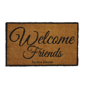 deurmat 'Welcome Friends'
