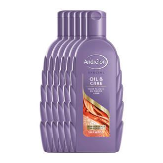 Special Oil & Care shampoo - 6x300 ml