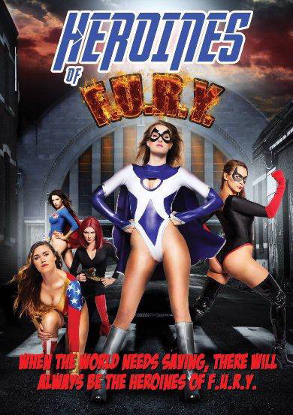 Heroines of F.U.R.Y (DVD)