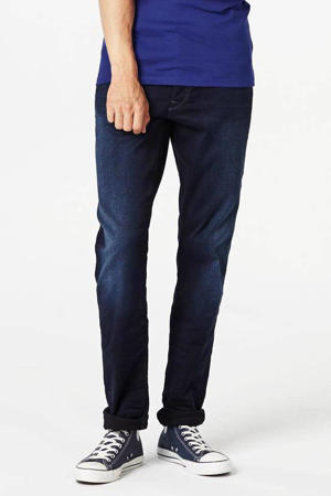 superstretch tapered fit jeans 3301 dark aged