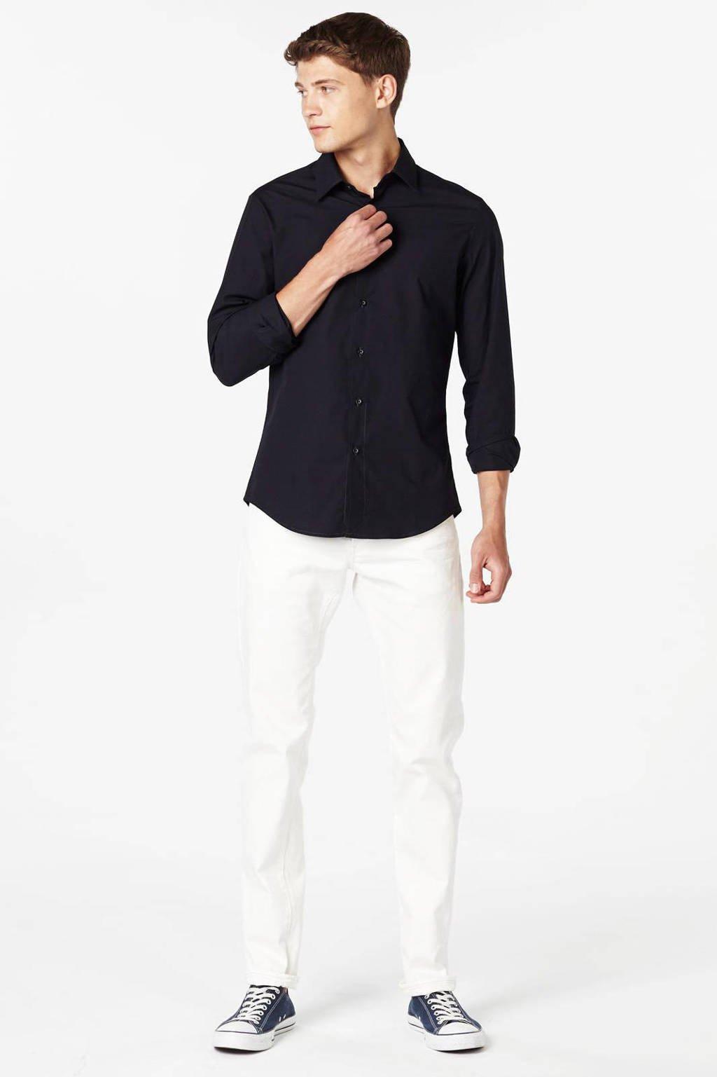 G-Star RAW Slim fit overhemd Core, Donkerblauw