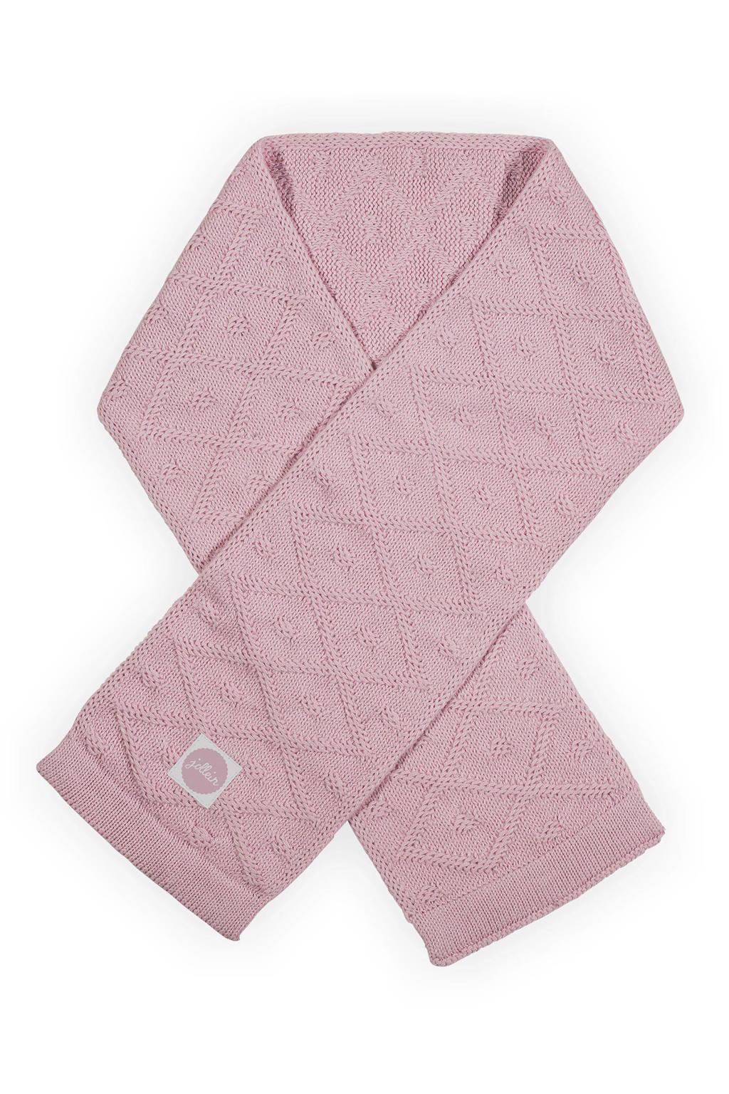 Jollein Sjaal Diamond, Vintage Pink