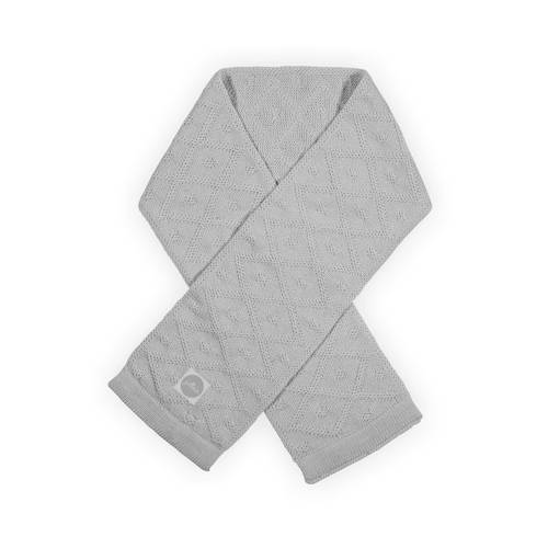 Jollein Sjaaltje Diamond Knit Grey