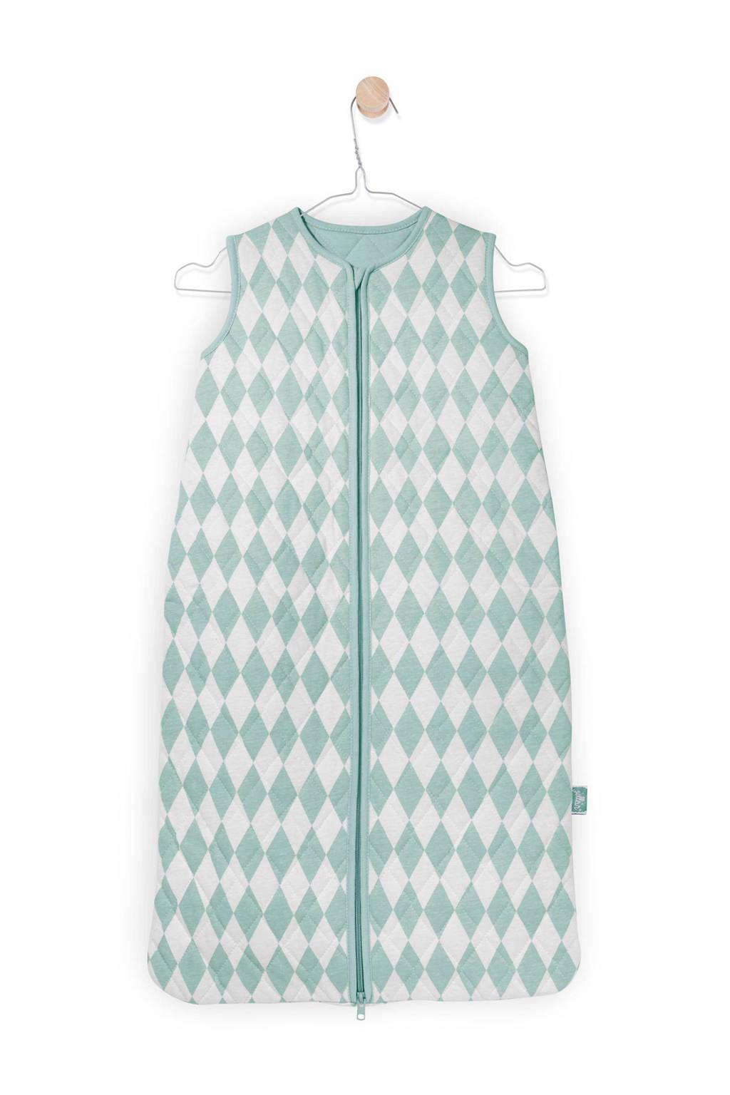 Jollein Diamond winter baby slaapzak 18-24 mnd vintage green, Vintage Green, 110