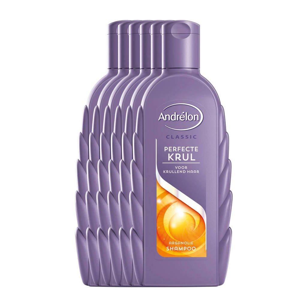 Andrelon Classic Perfecte Krul shampoo - 6x300 ml