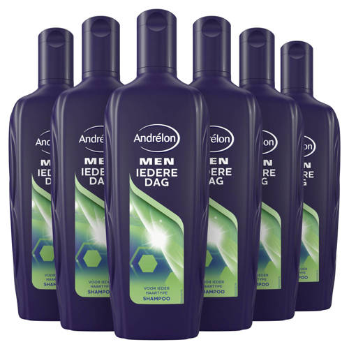 -Andrelon Men Iedere Dag shampoo - 6x300 ml-aanbieding