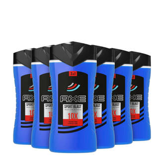Sport Blast 3in1 douchegel - 6x250 ml - bodywash