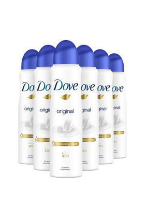 Original deodorant spray - 6x150 ml - anti-transpirant