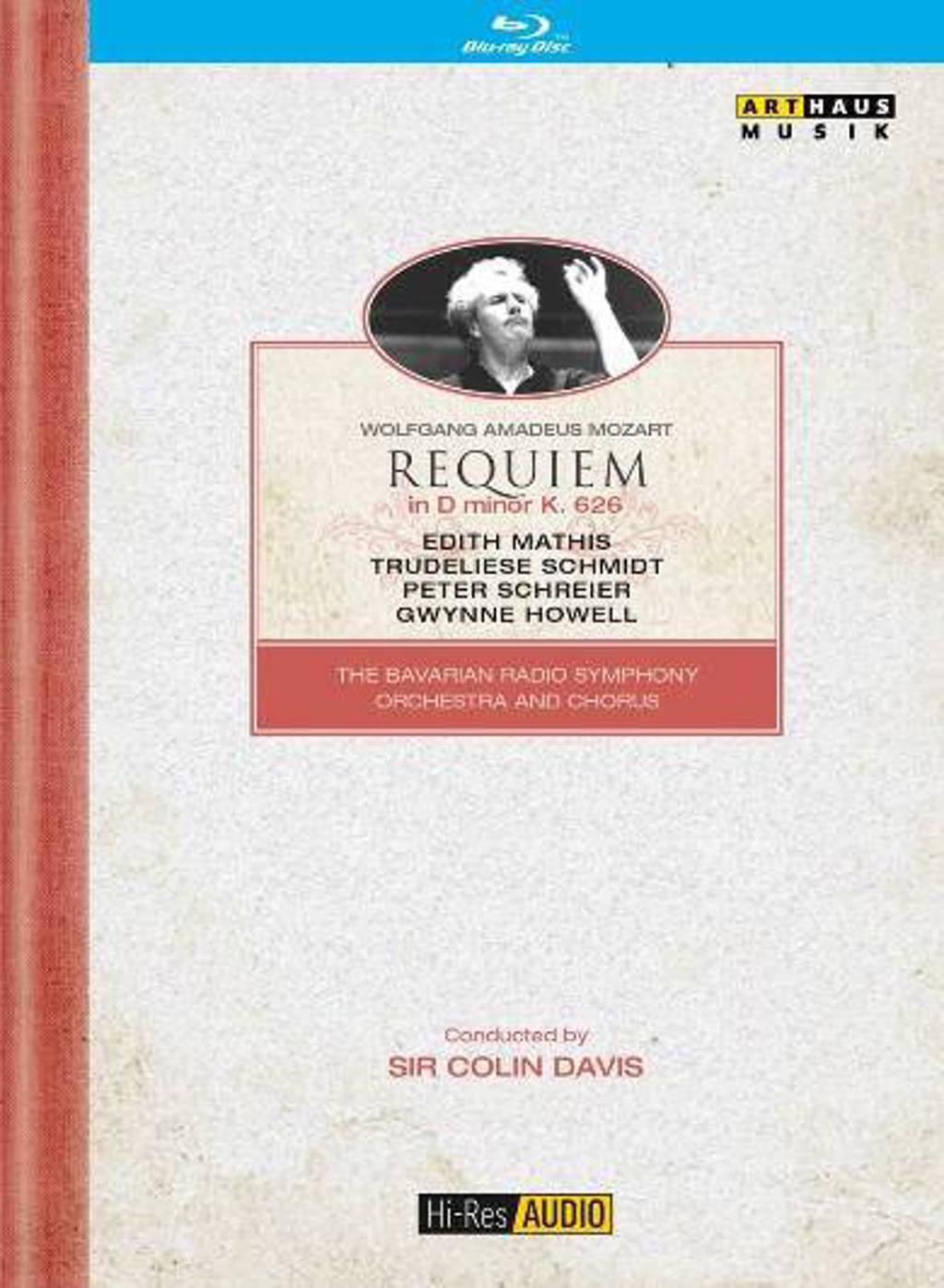 Mathis,Schmidt,Schreier - Requiem Mozart   Blu-Ray With Hr Au (Blu-ray)