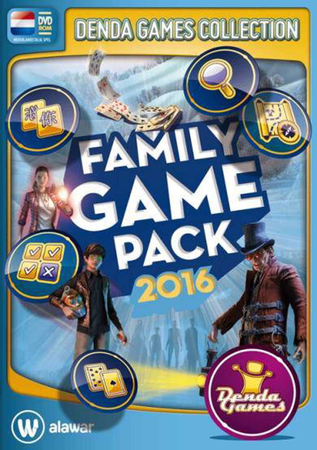 Family game pack - Winter editie 2016 (PC)