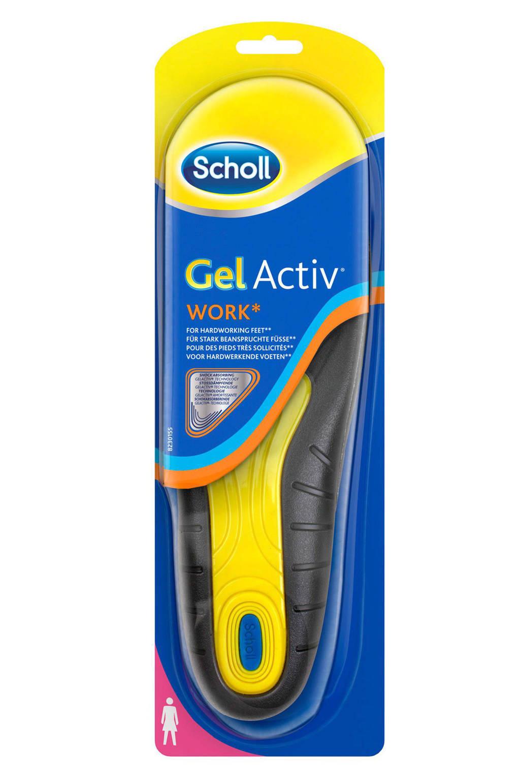 Scholl Gel Activ zolen - werk