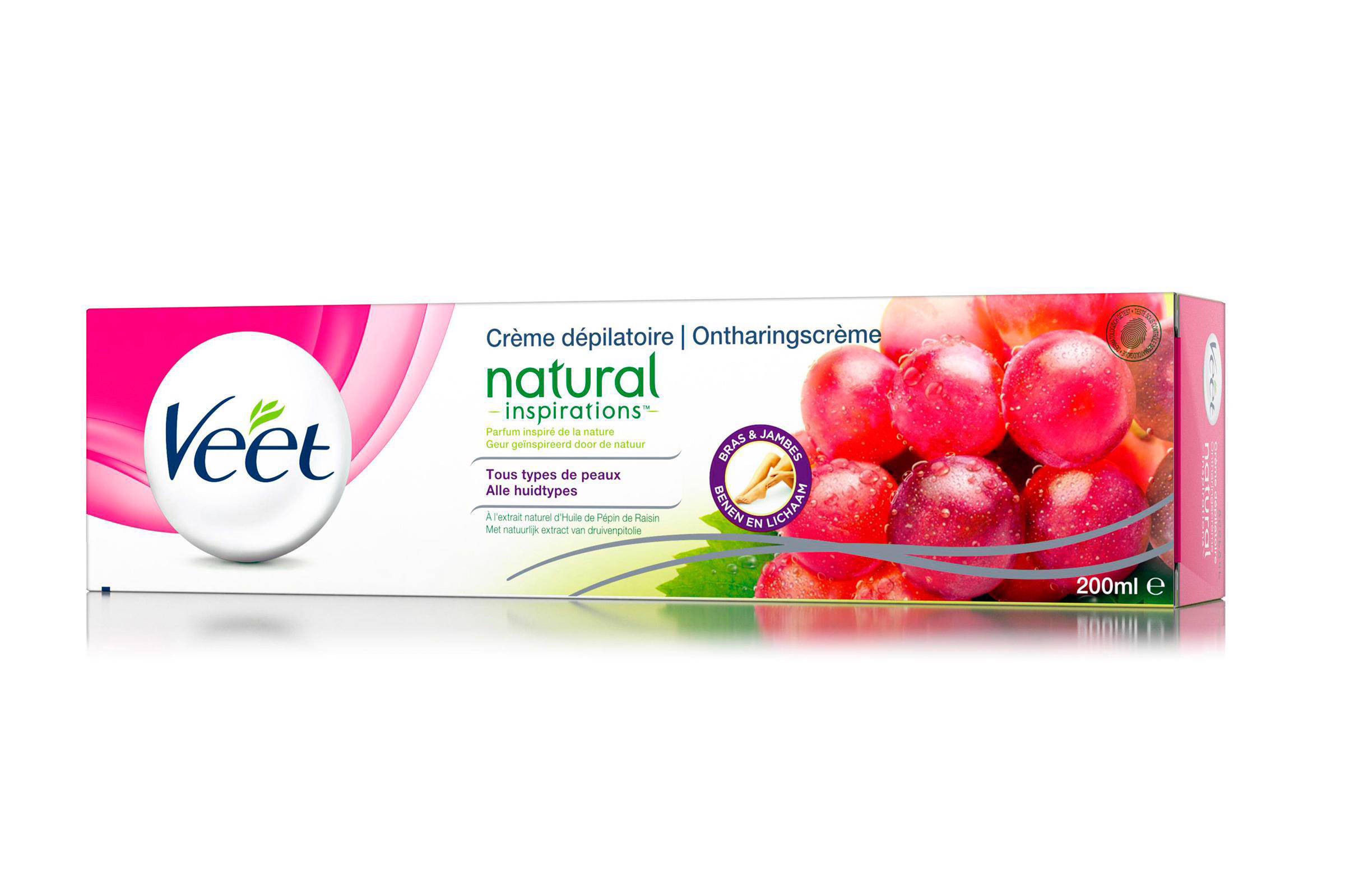 Veet Natural Inspirations ontharingscème - 200 ml