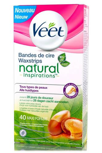 Natural Inspirations koude waxstrips benen
