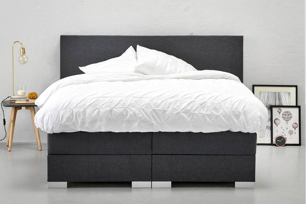 Bed 140x200 Compleet.Beter Bed Complete Boxspring Espace 140x200 Cm Wehkamp