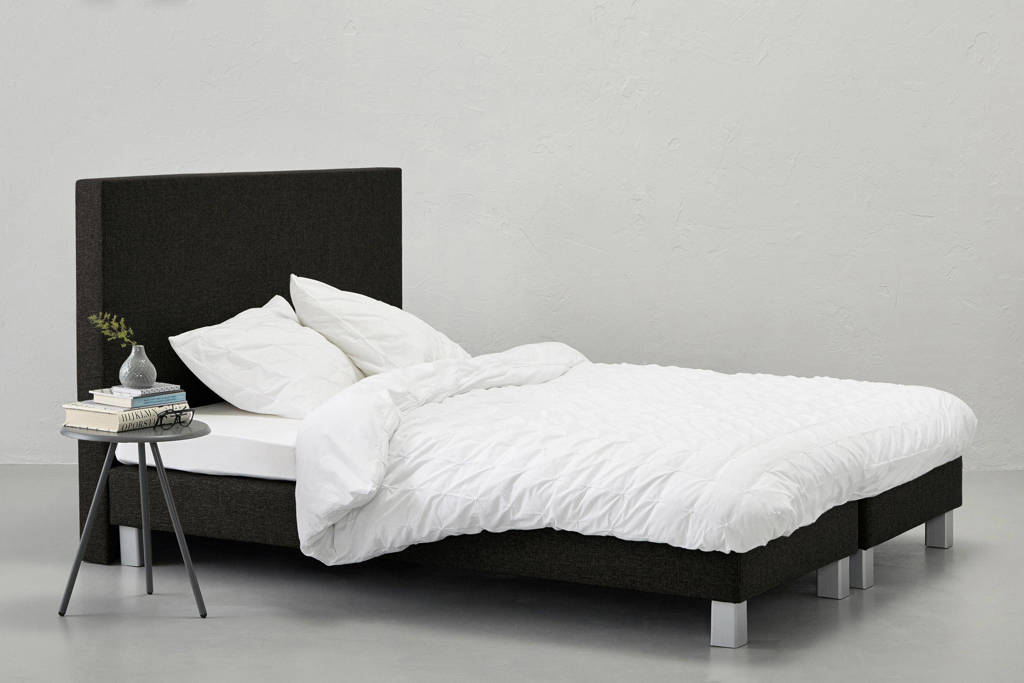 Beter Bed complete boxspring Lugo, 160x200, Zwart