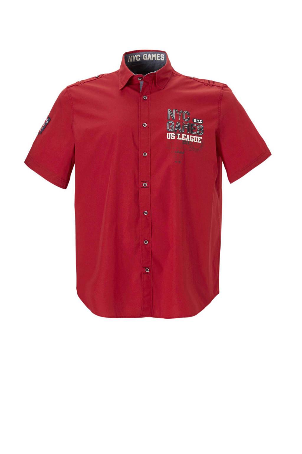 Heren Overhemd Rood.C A Heren Xl Overhemd Wehkamp