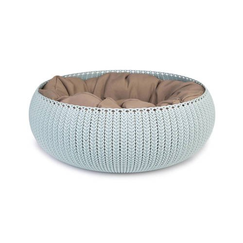 Curver Cozy Pet Bed Lichtblauw (mint)