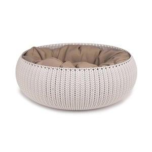 Cozy Pet Bed - Kattenmand - Crème - 50 cm