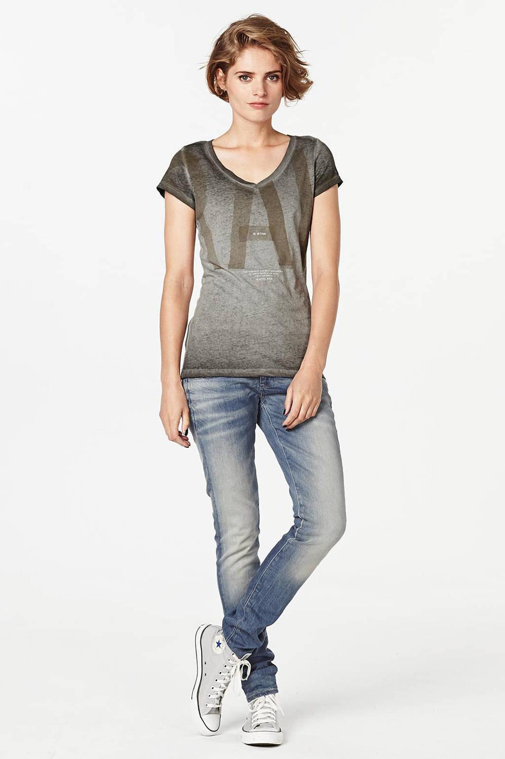 G-Star RAW Lynn mid skinny fit jeans, Cyclo stretch denim
