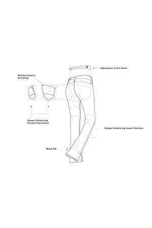 Midge Saddle Mid Straight fit Jeans