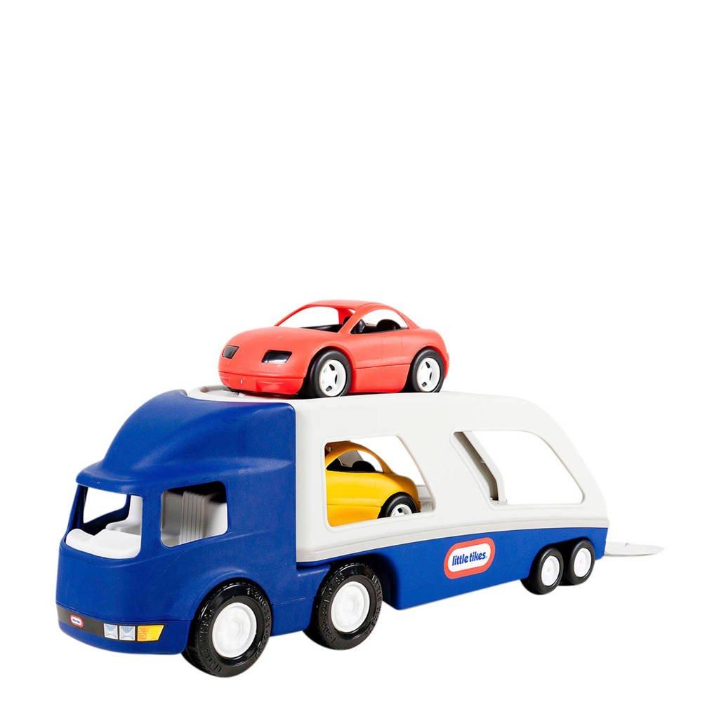 Little Tikes  autotransporter, Blauw/wit