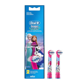 Disney Frozen Stages Power Kids Disney Frozen opzetborstels - 2 stuks