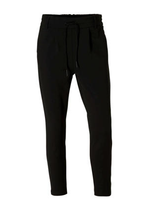 tapered fit broek ONLPOPTRASH zwart