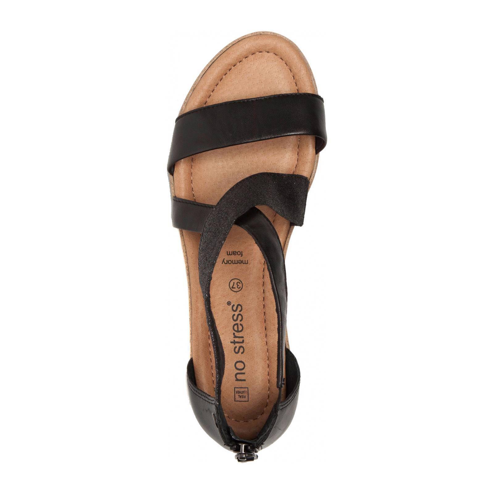 new style fc8e0 cebe9 leren sandalen