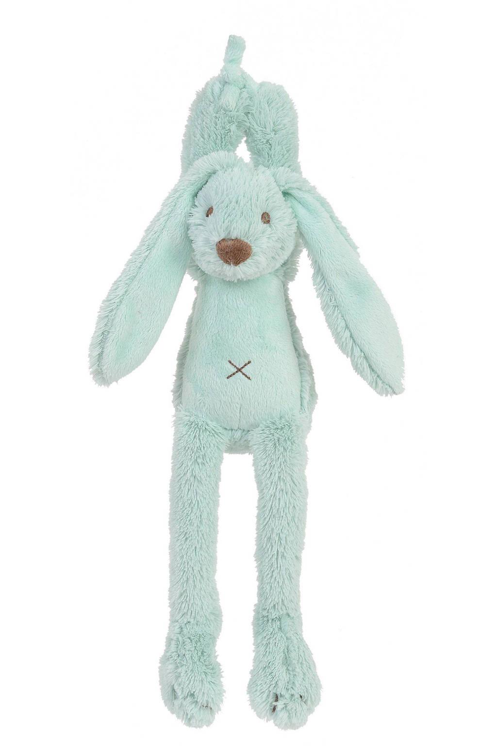 Happy Horse konijn Richie muziek knuffel 34 cm, Lagoon