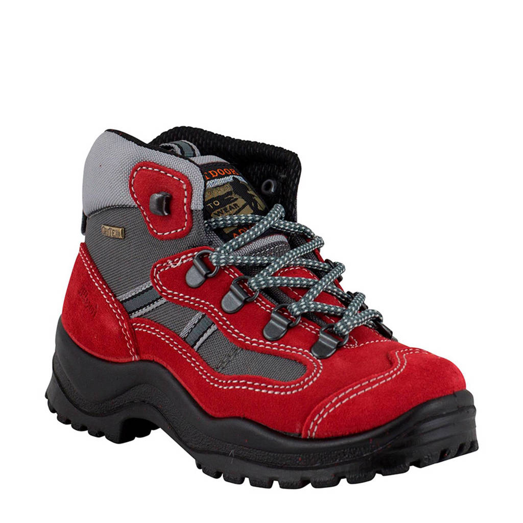 Grisport   suède wandelschoenen Torino kids, Red