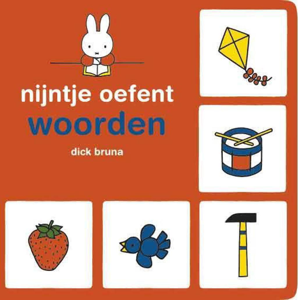 nijntje Nijntje oefent: Nijntje oefent woorden - Dick Bruna, Oranje