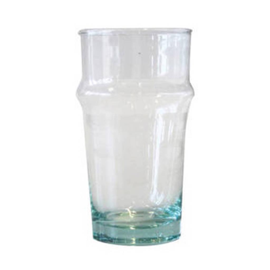 Urban Nature Culture waterglas (Ø6,5 cm) (set van 4), Blauw