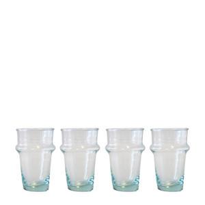 Glas (set van 4)