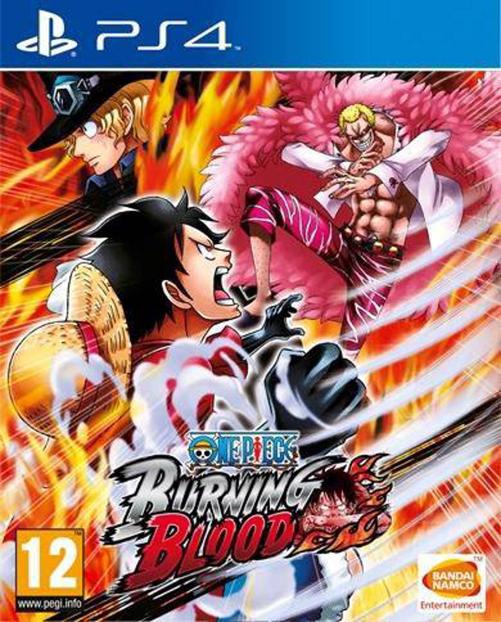 One piece burning blood (PlayStation 4)