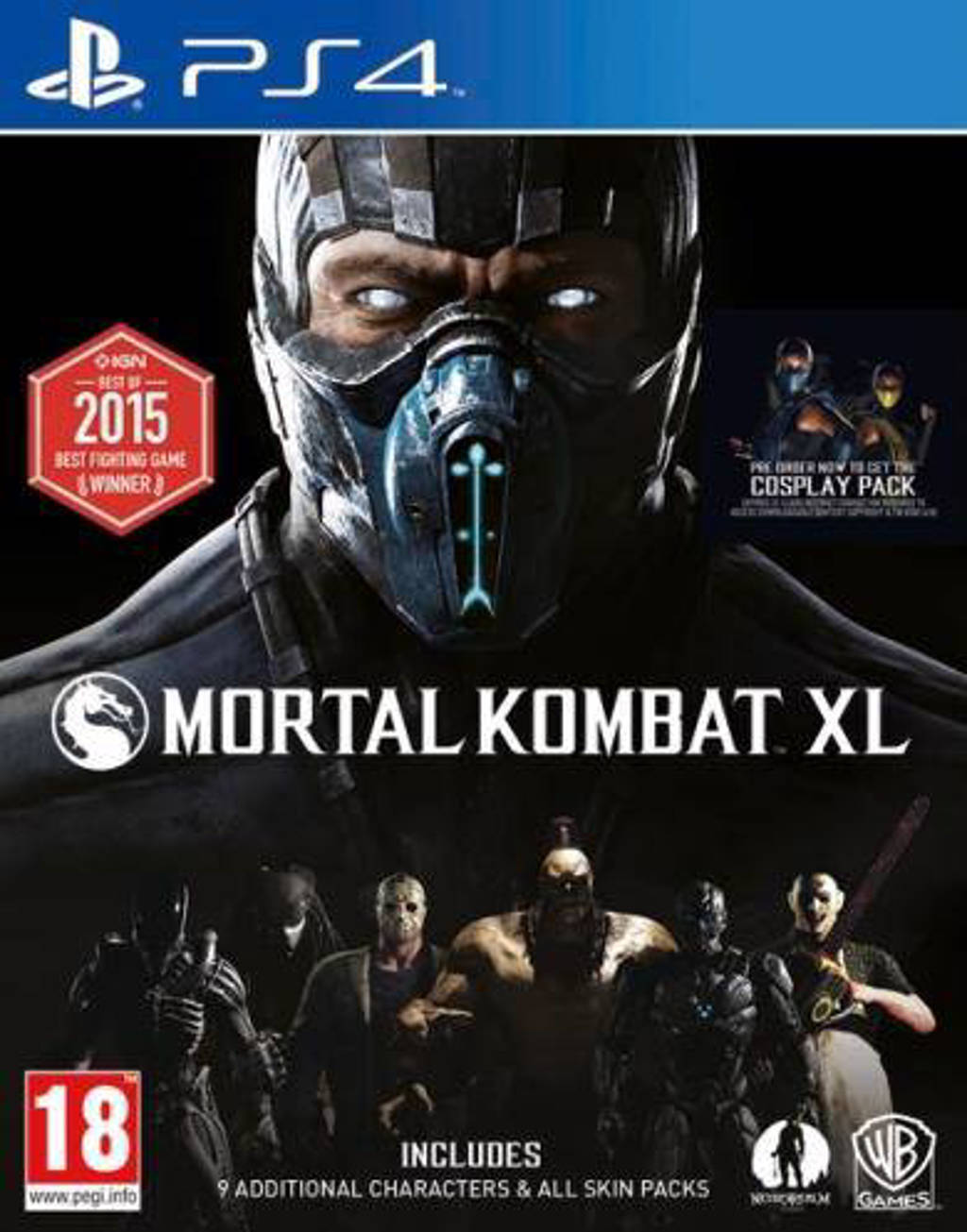 Mortal kombat XL (PlayStation 4)