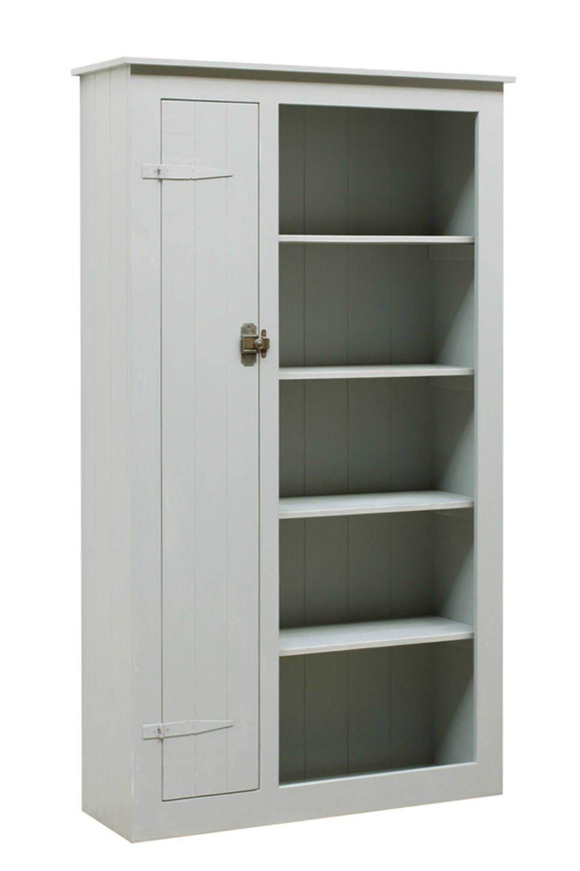 timzowood living lockerboekenkast grijs
