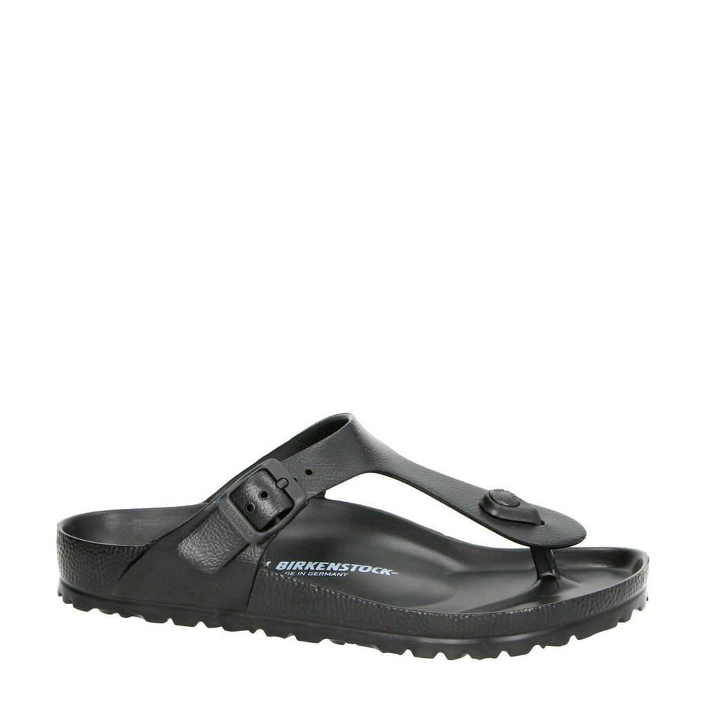 Birkenstock slipper, Zwart