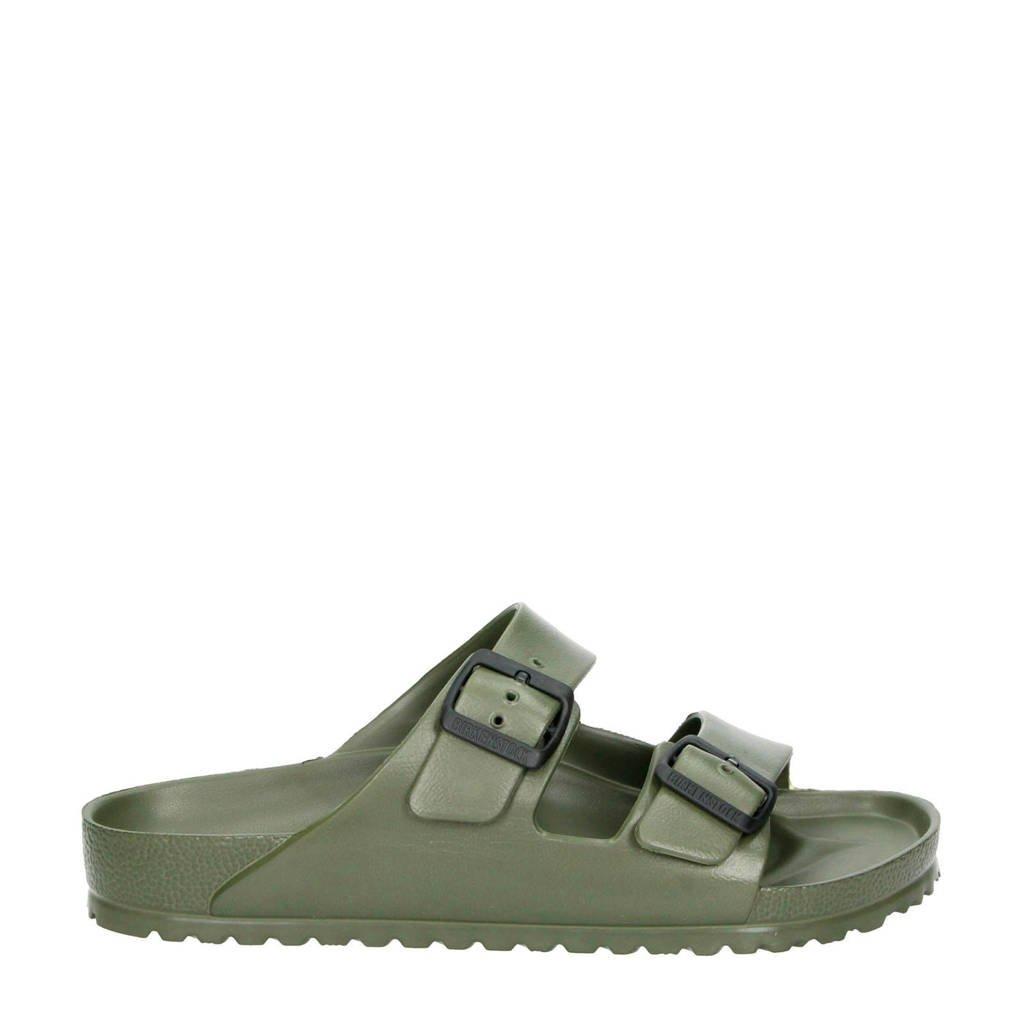 Birkenstock Arizona EVA  slippers kaki, Kaki