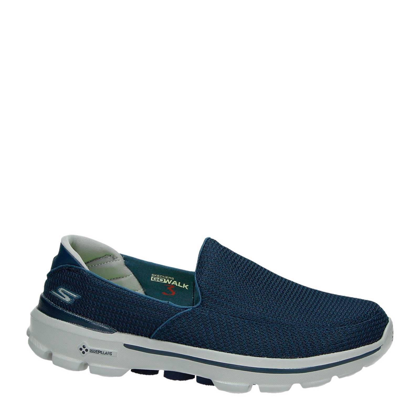 Occasionnels Skechers Bleu Vont Marcher Chaussures De Sport Pour Les Hommes hFfEG4ouKf