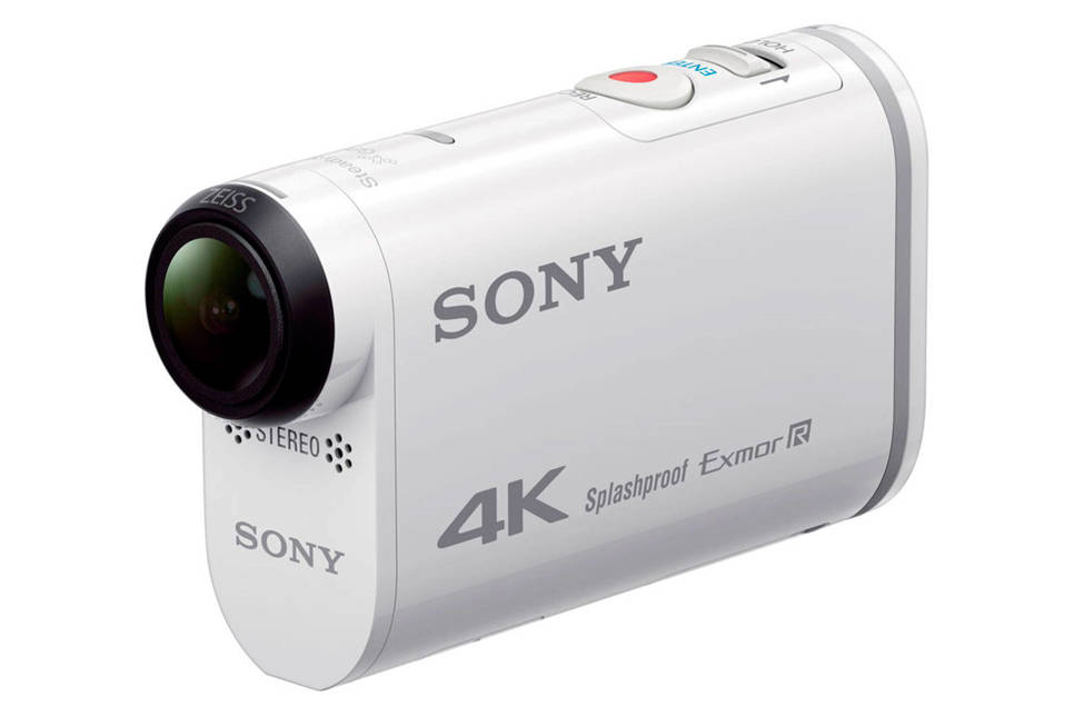 Sony FDR-X1000VR Remote kit action cam, Wit