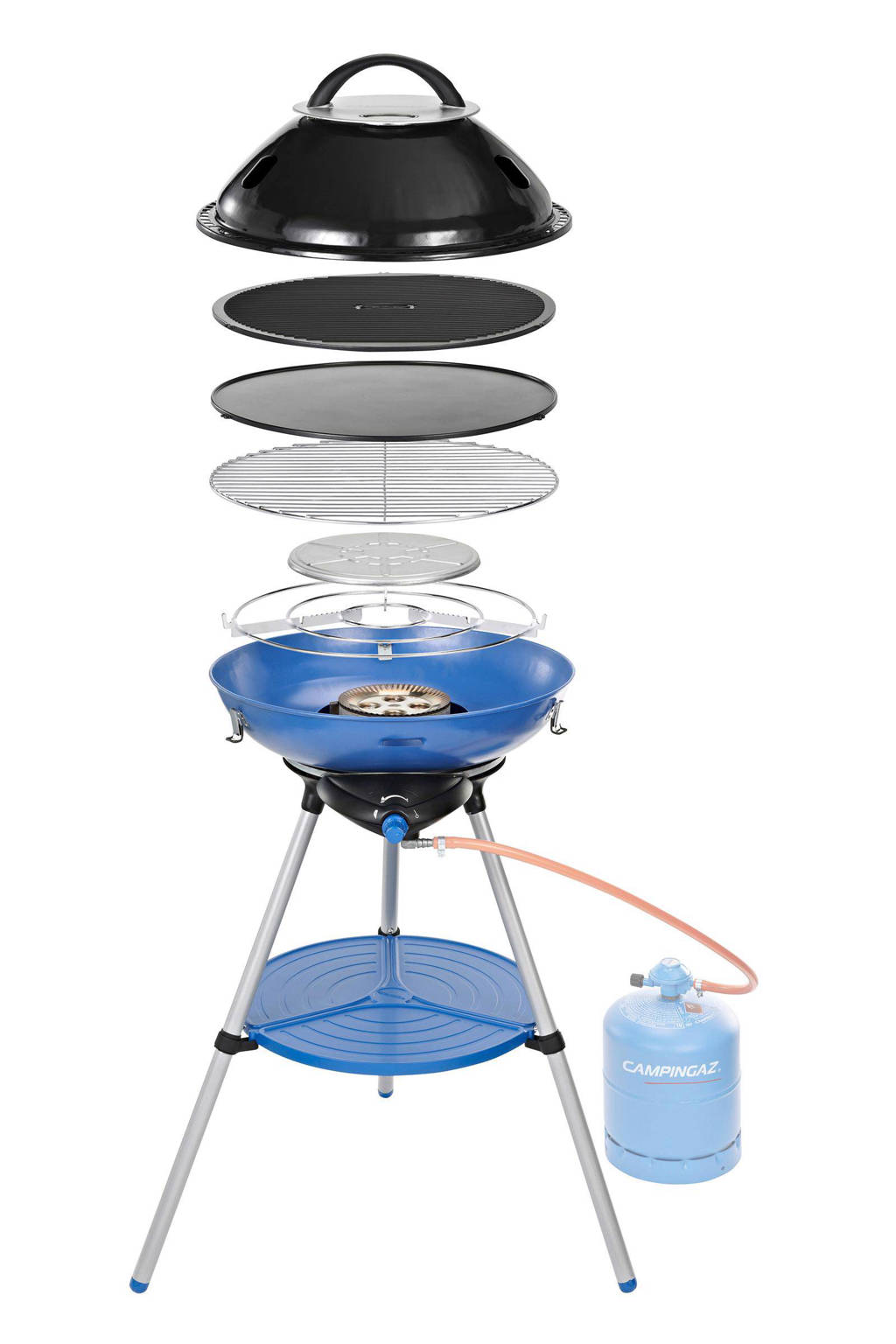 Campingaz Party Grill 600 Int gasbarbecue, Blauw